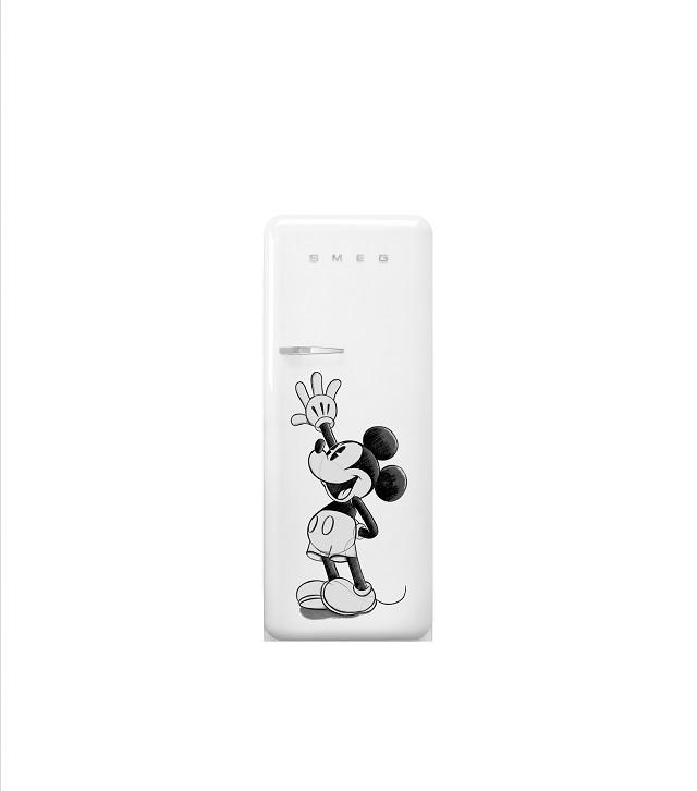 Smeg_MickeyMouse Limited Edition Fridge