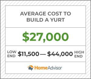 2020 Yurt Costs Average Price To Build A Yurt Homeadvisor