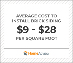 2020 Brick Or Veneer Siding Costs