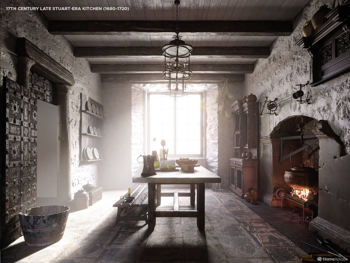 1600s Kitchen