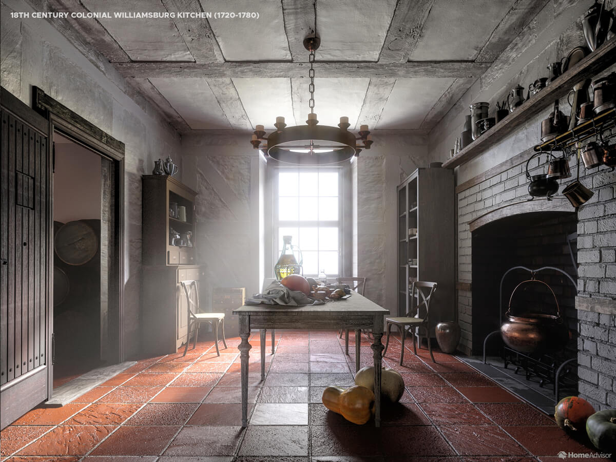 1700s Kitchen