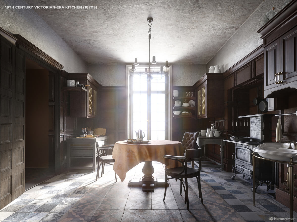 1800s Kitchen