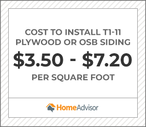 2020 T1 11 Plywood Osb Siding Prices Costs Per Sheet Size Homeadvisor