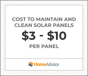 2020 Solar Panel Cleaning Maintenance Costs Homeadvisor