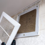 dirty air vent in home needs a cleaning