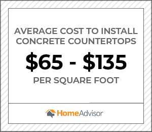 2020 Concrete Countertop Costs Price