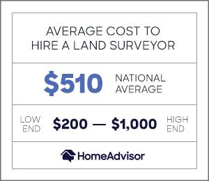 2020 Land Surveyor Costs Property Survey Cost Per Acre Homeadvisor