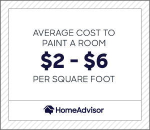 2021 Interior Painting Costs Calculator Cost To Paint A Room Homeadvisor