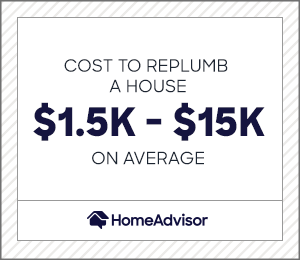2020 Plumbing Installation Costs Plumb Or Repipe A House Homeadvisor