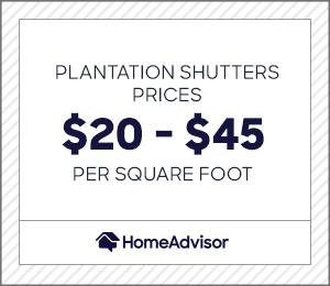 2020 Plantation Shutters Cost Per Window Sliding Glass Door Homeadvisor