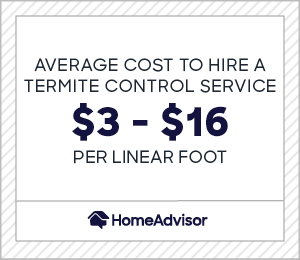2020 Termite Treatment Costs Cost To Tent A House Homeadvisor