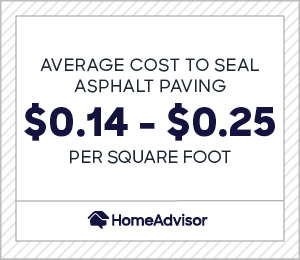 2020 Asphalt Sealing Costs Avg Price To Sealcoat Driveway Per Sq Ft Homeadvisor