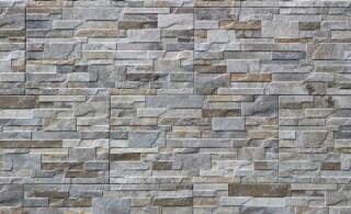 stone veneer paneling up-close