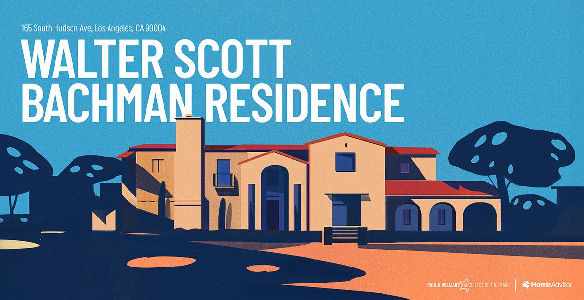 Walter Scott Bachman house rendering
