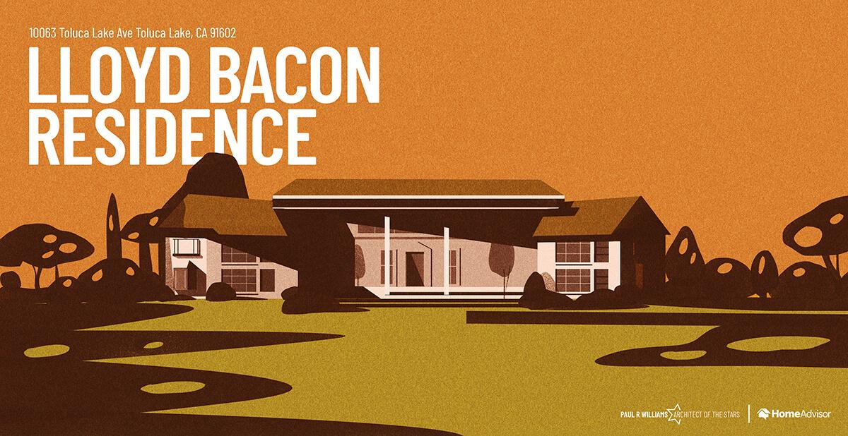 Lloyd Bacon house rendering