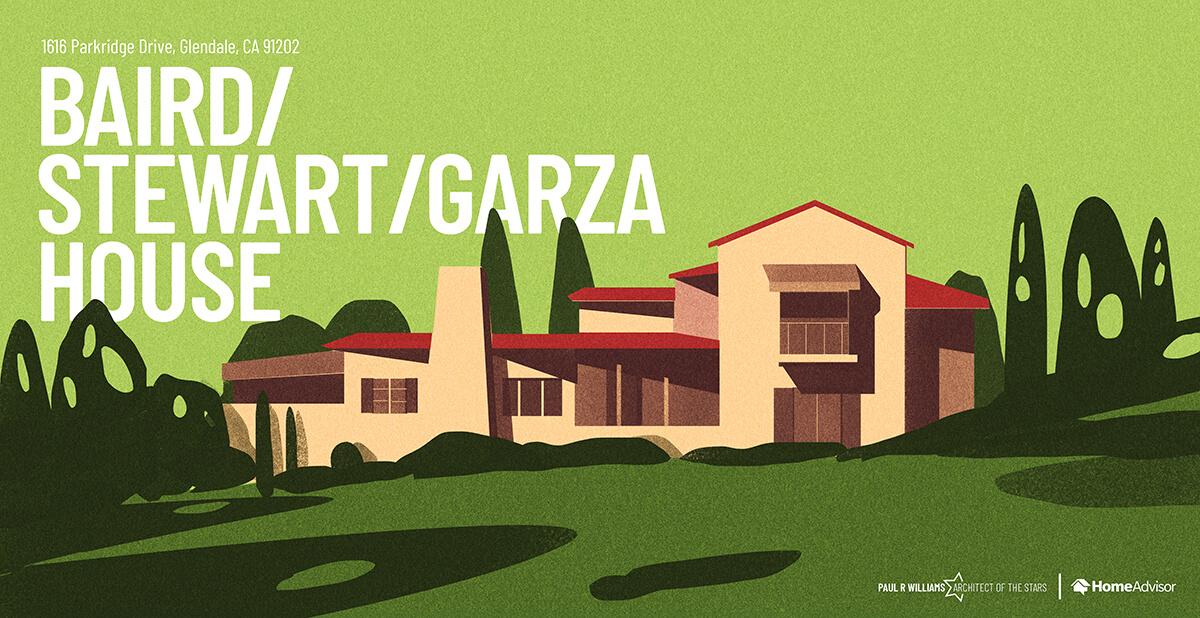Baird, Stewart, Garza house rendering