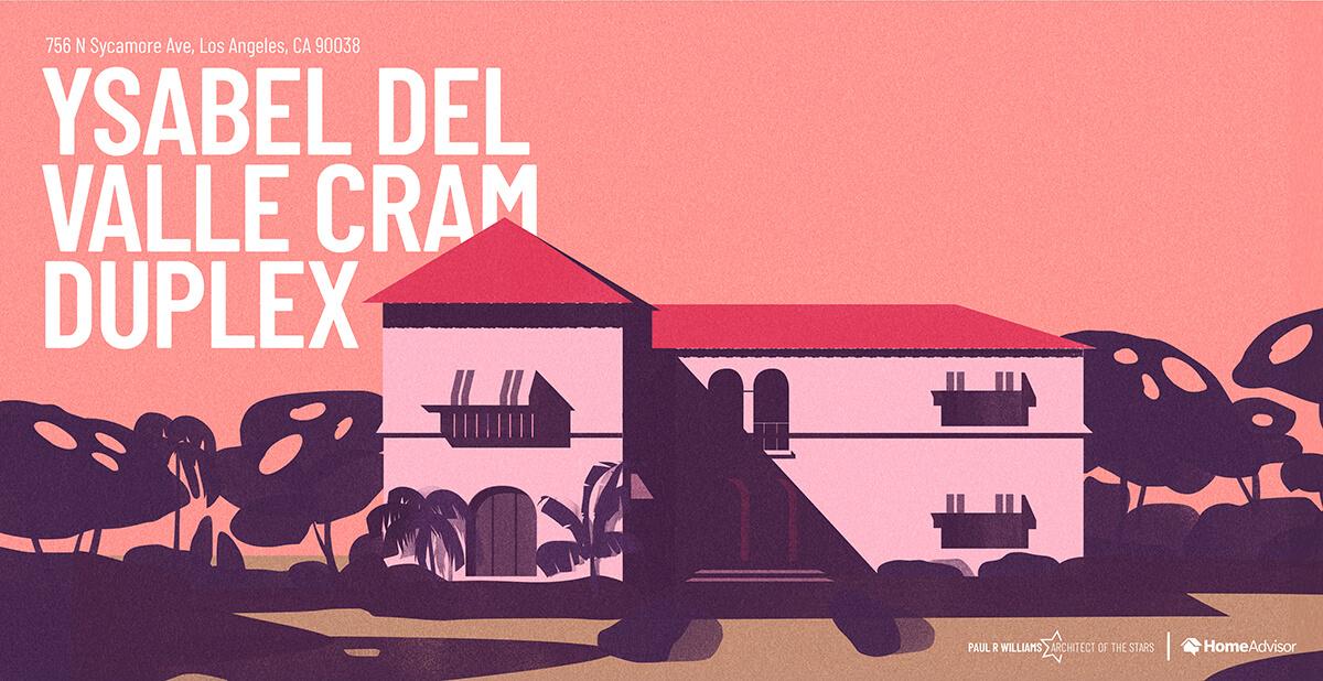 Ysabel Del Valle Cram house rendering