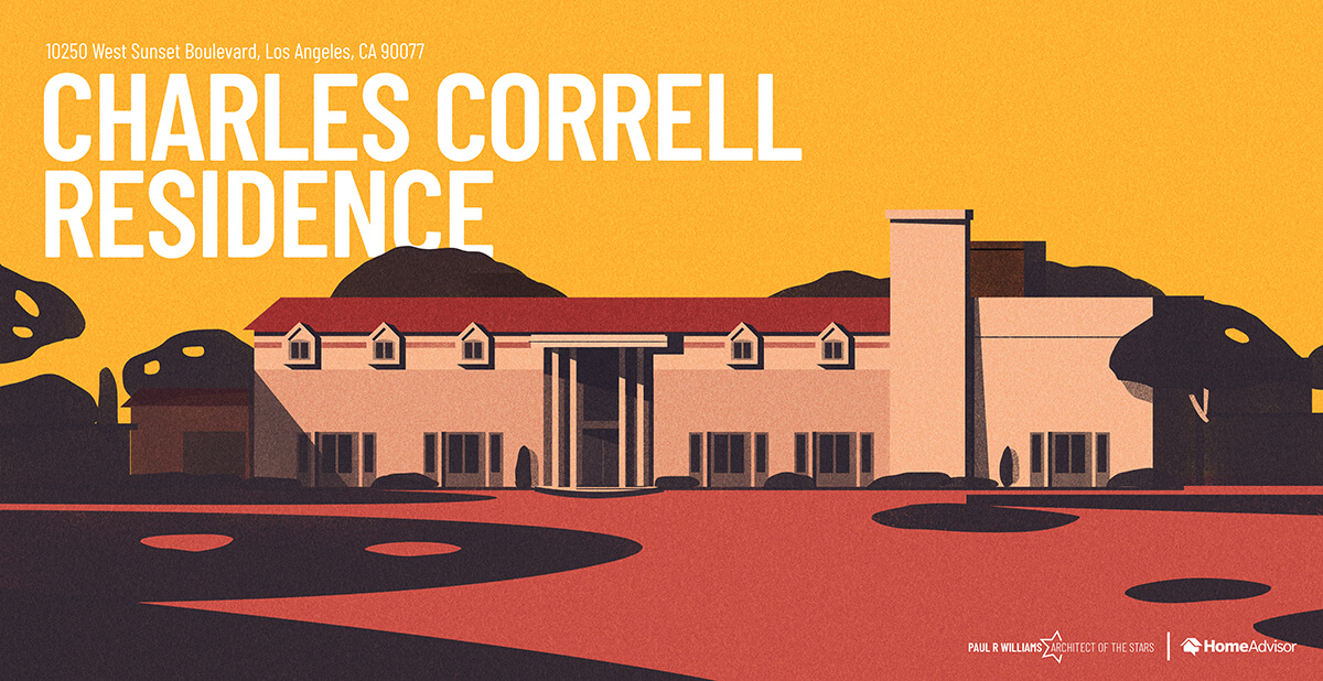 Carles Correll house rendering