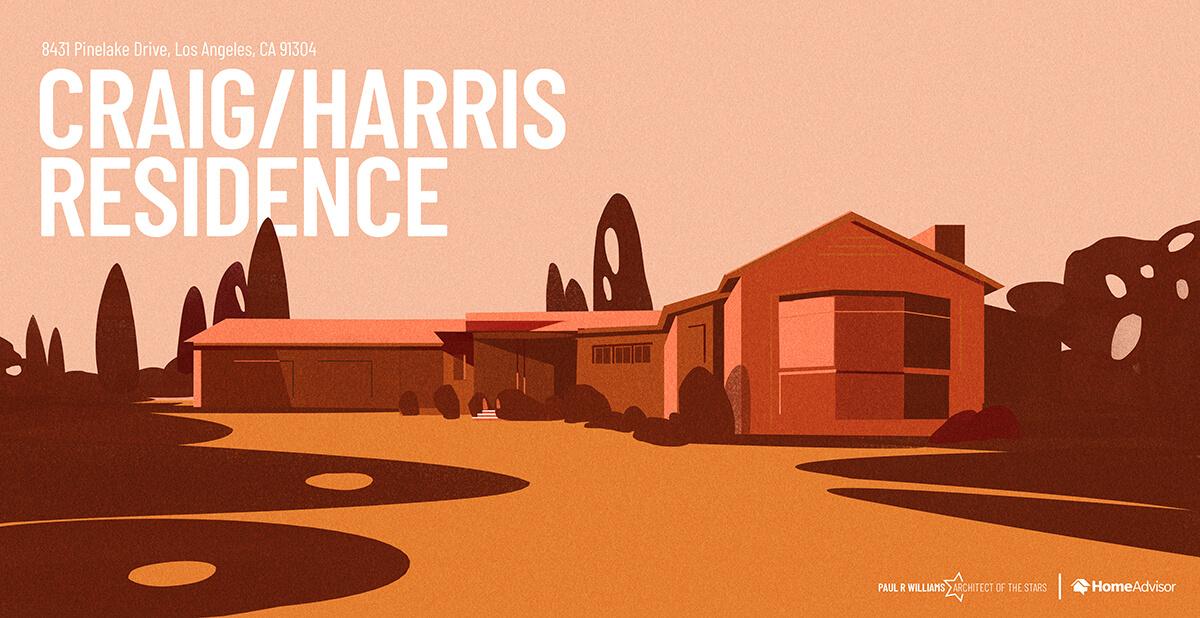 Craig and Harris house rendering