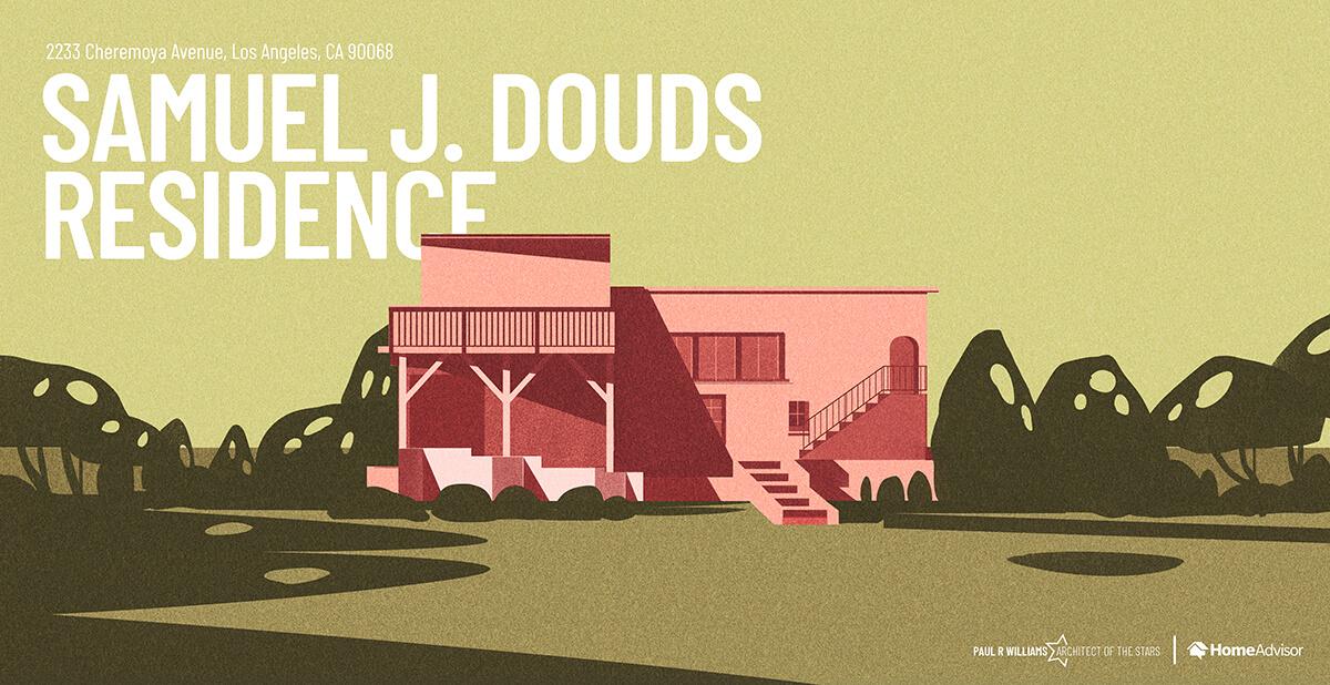 Samuel Douds house rendering