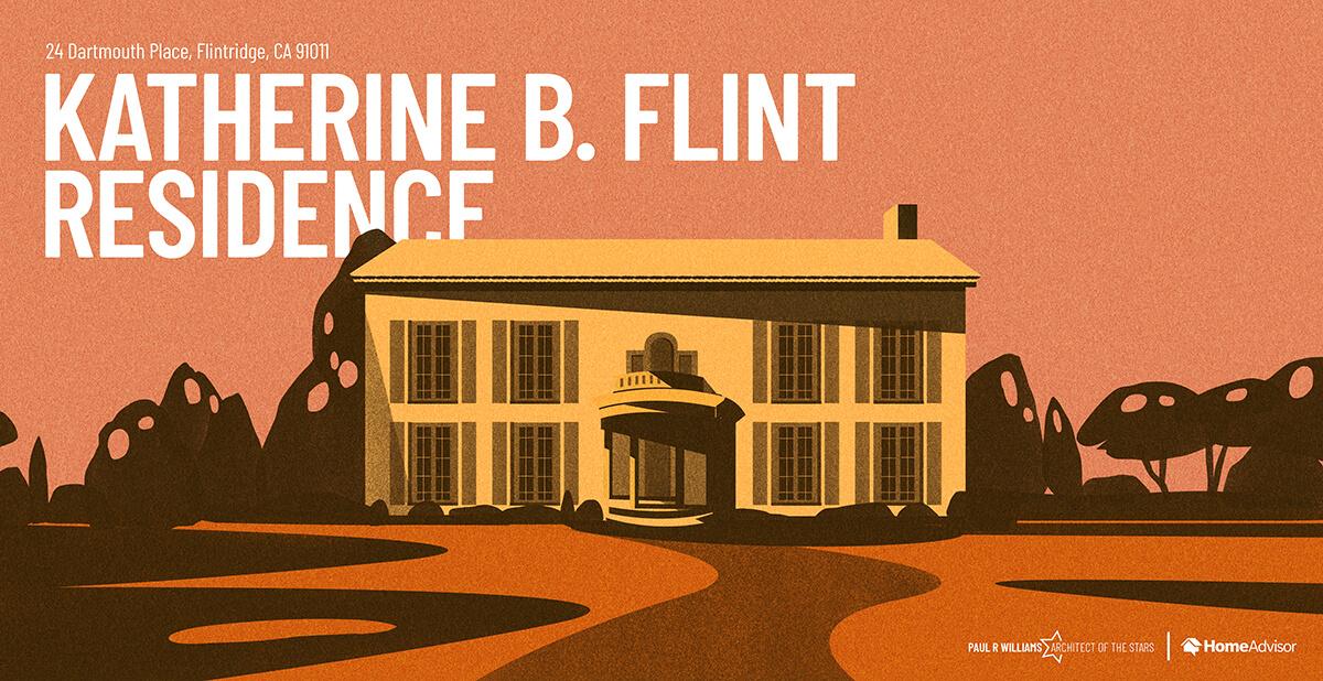 Senator Frank Putnam Flint house rendering