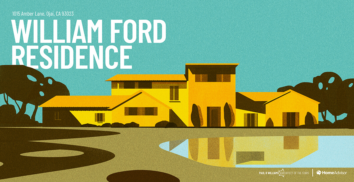 William Ford house rendering