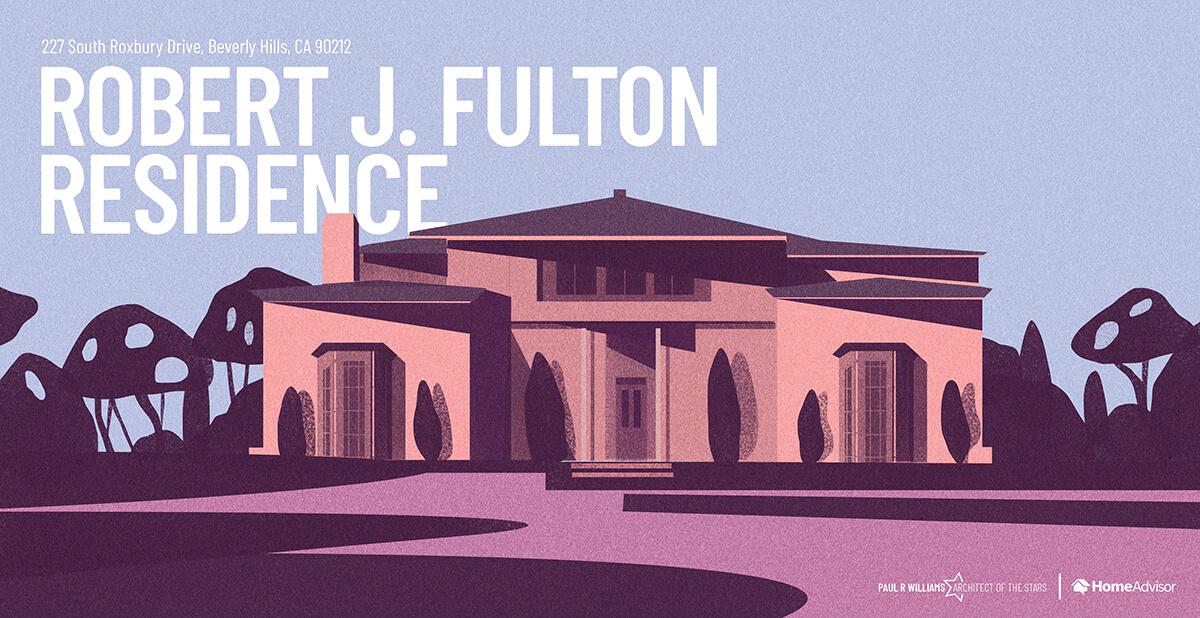 Robert Fulton house rendering