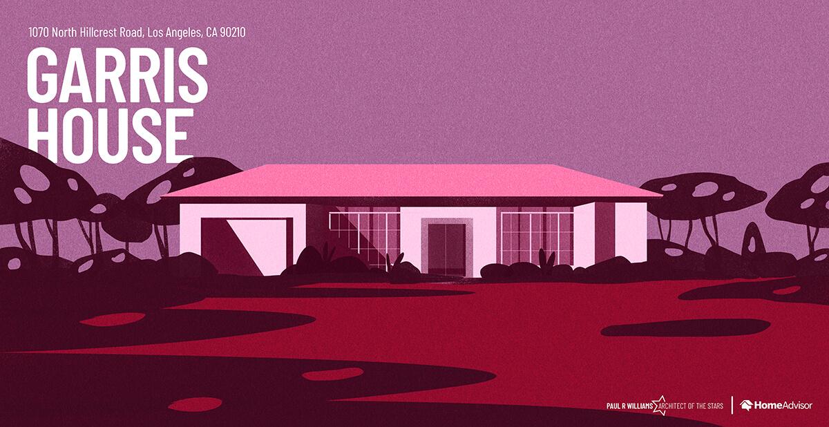Michael J. Garris house rendering