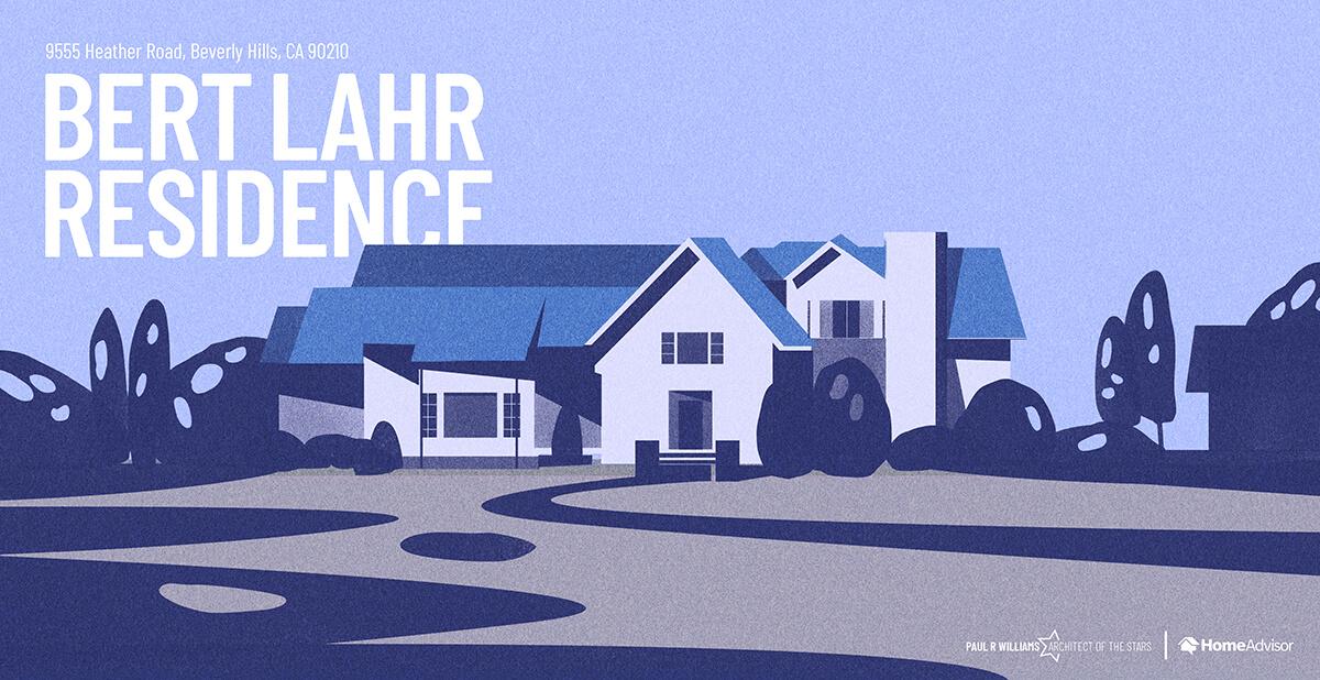 Bert Lahr house rendering