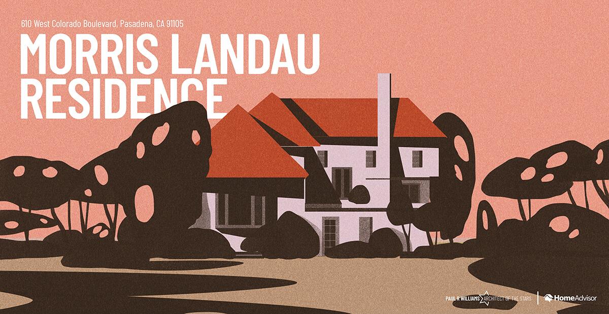 Morris Landau house rendering