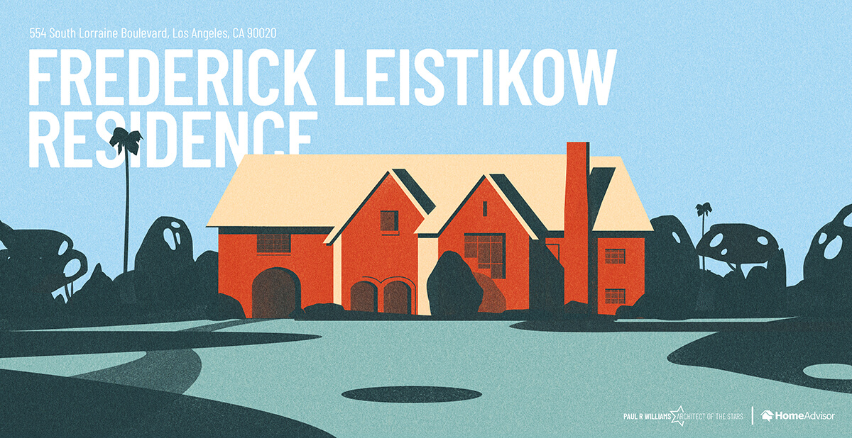 Federick Leistikow house rendering