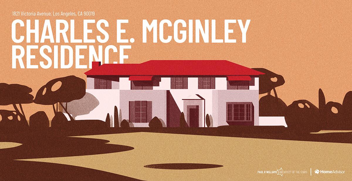 Charles McGinley house rendering