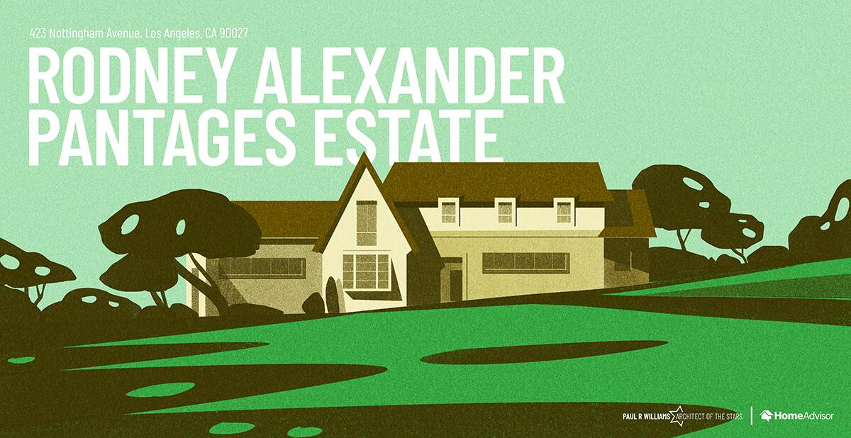 Rodney Alexander house rendering