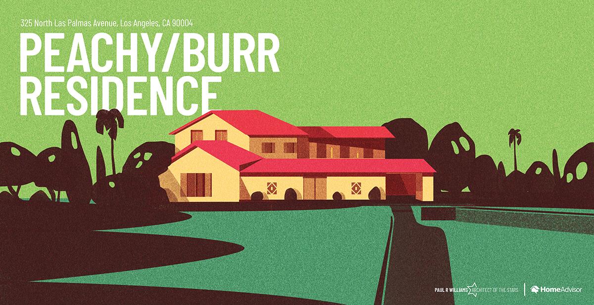 Peachy Burr house rendering