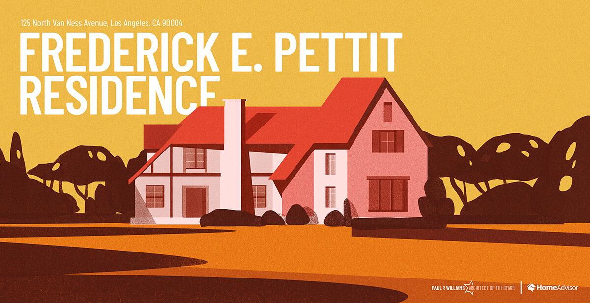 Frederick Eugene house rendering