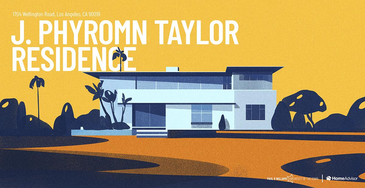 Dr. Jackson Phromn Taylor house rendering