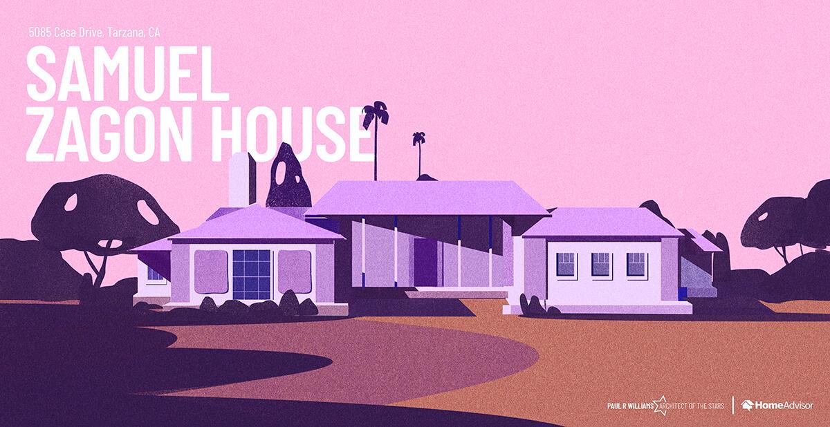 Samuel Zagon house rendering