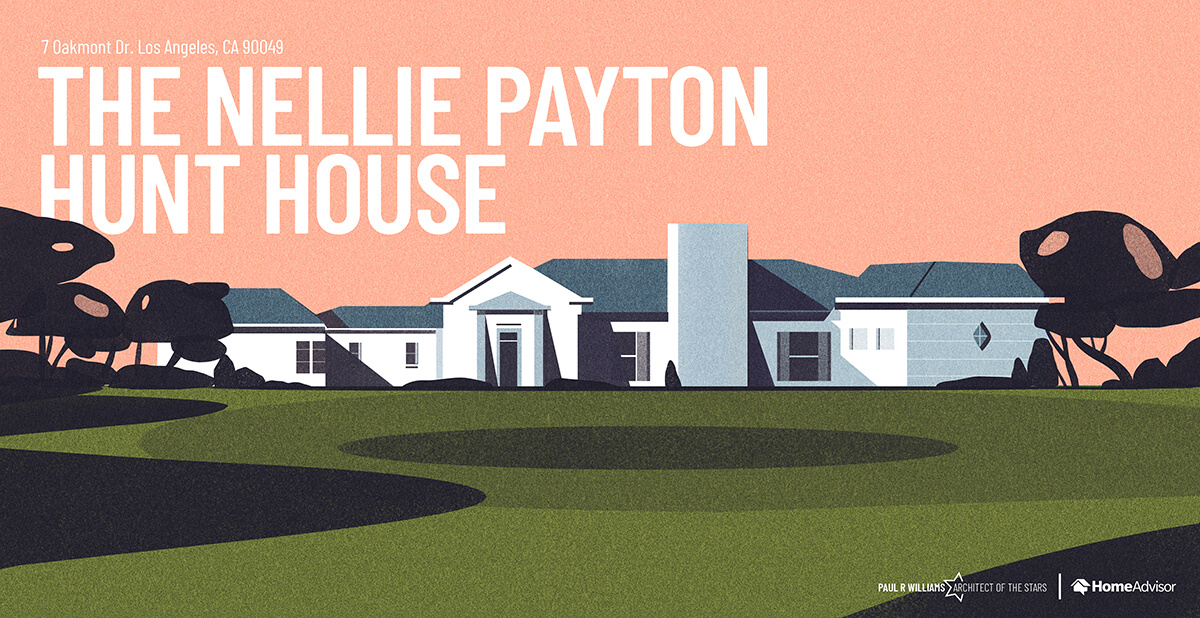 Nellie Payton house rendering