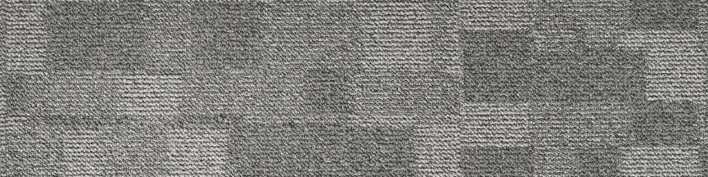 patterned loop pile carpet in shades of gray