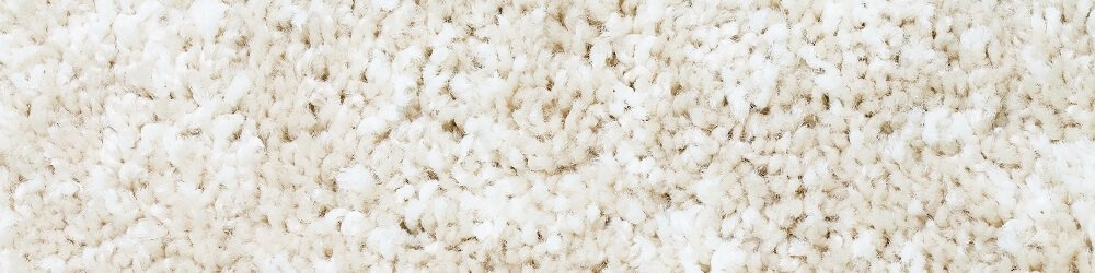 plush white carpeting