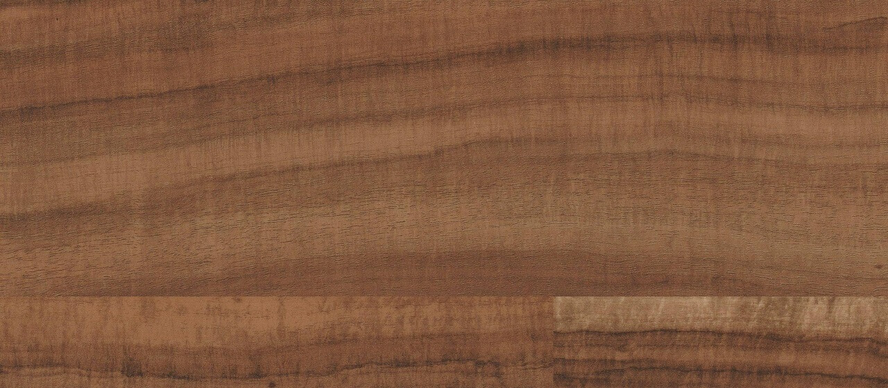 close-up of tigerwood decking material