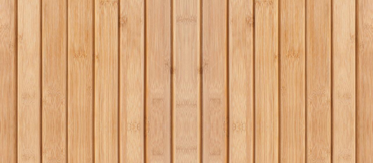 close-up of bamboo decking