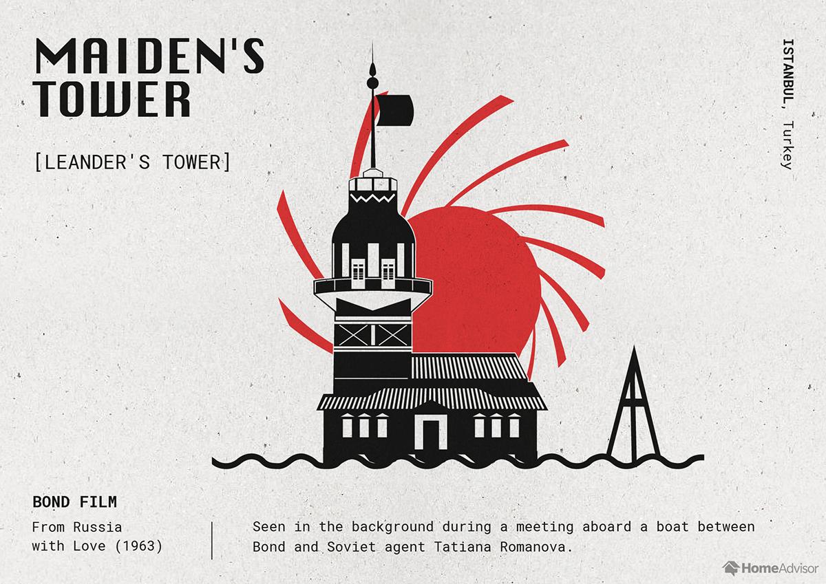 maidens tower illustration