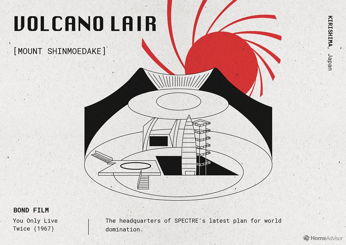 Volcano-Lair illustration