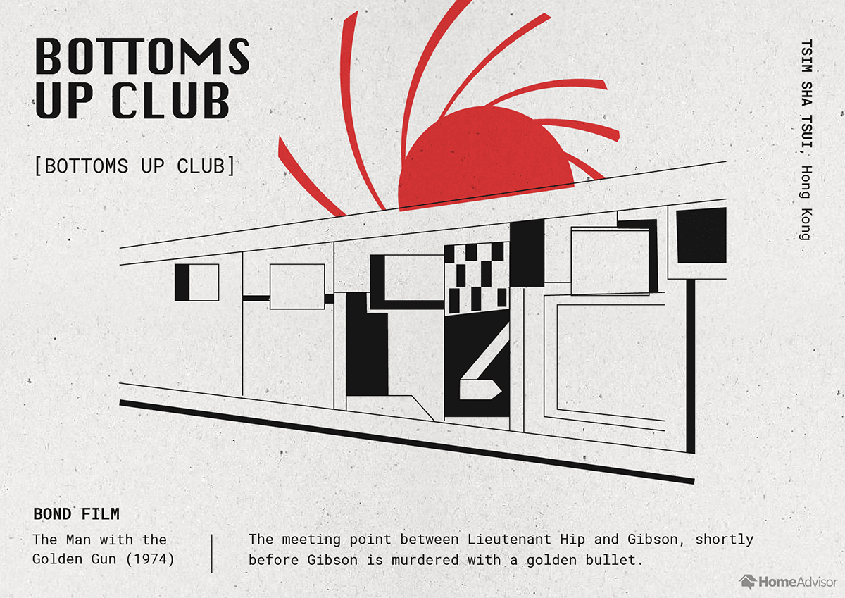 bottoms up club illustration