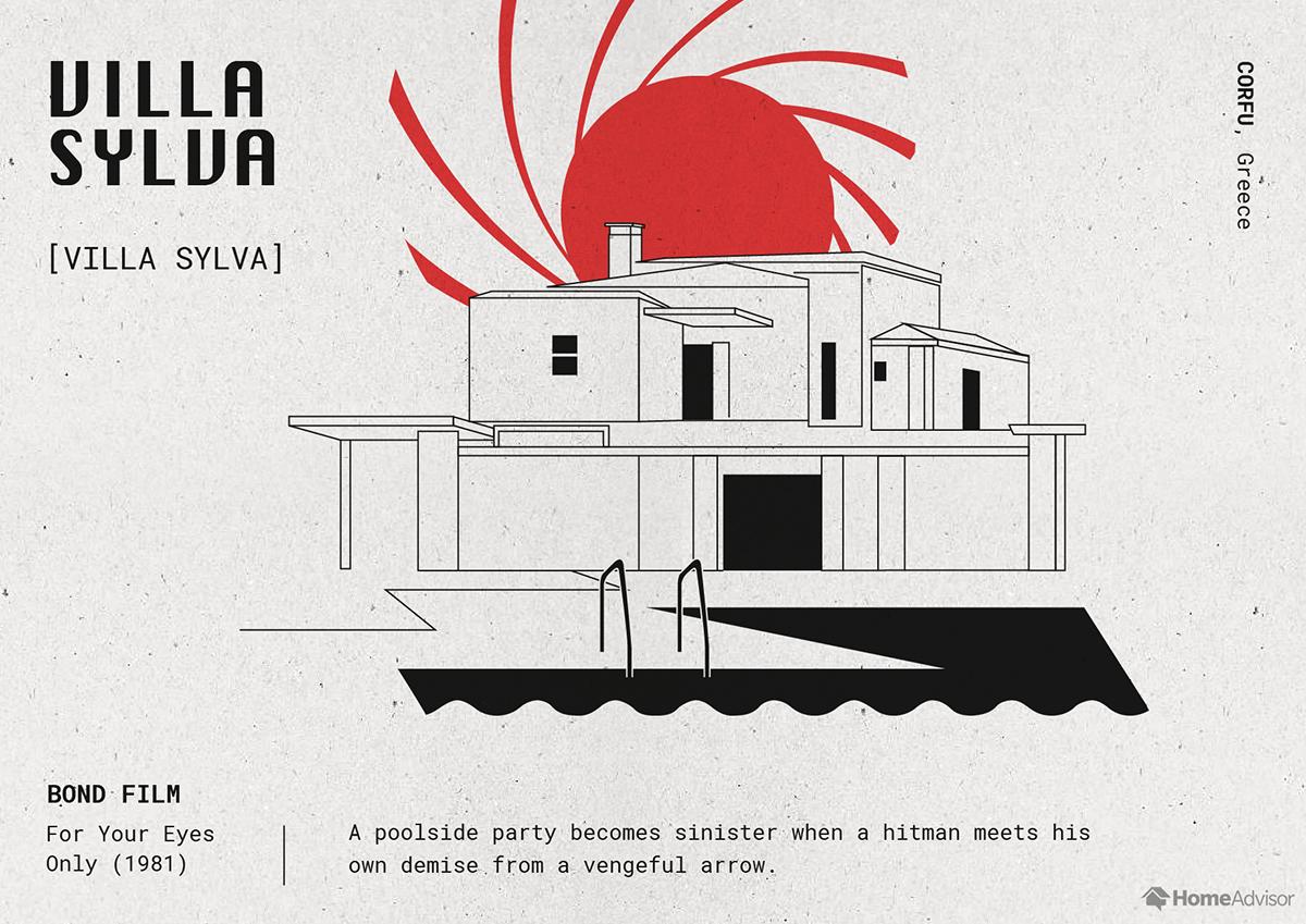 villa sylva illustration