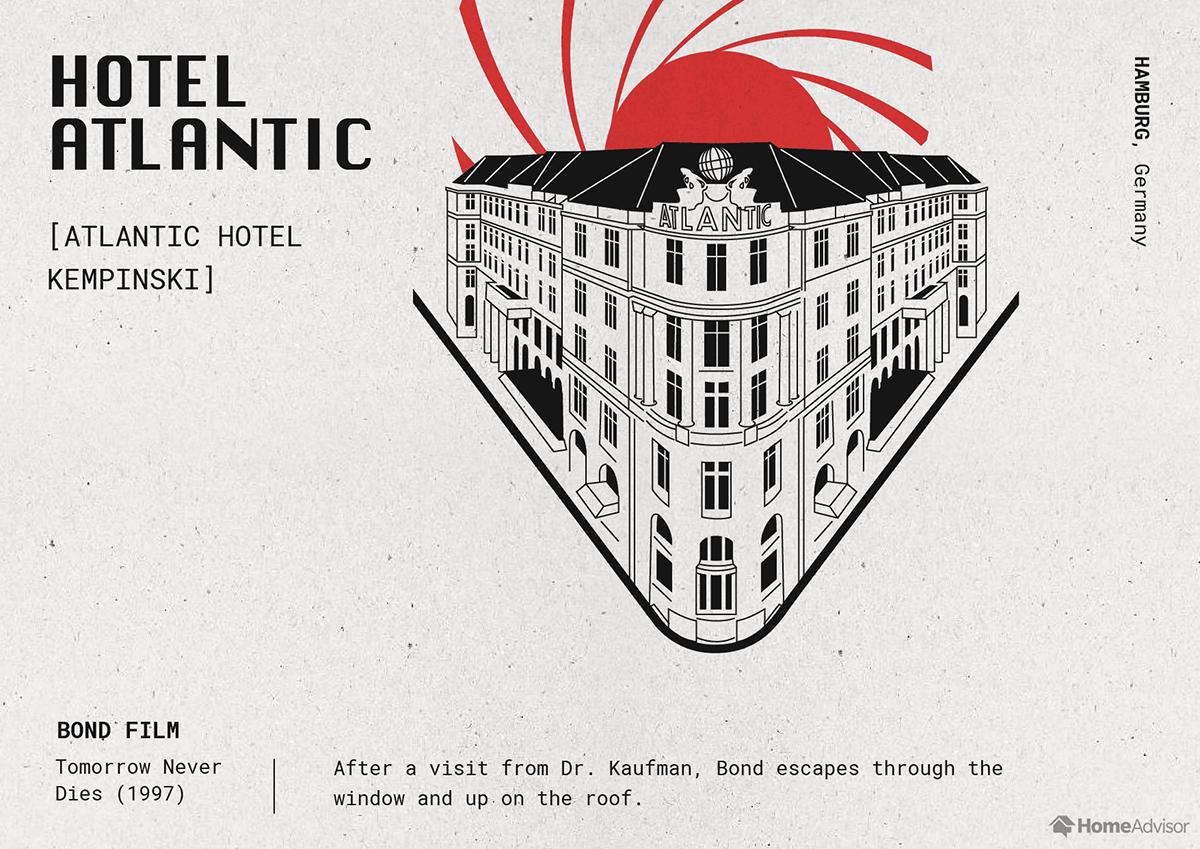 hotel atlantic illustration