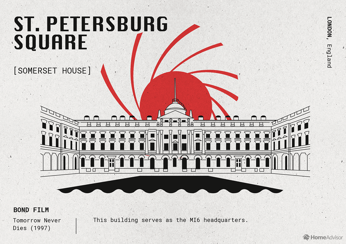 st. petersburg square illustration
