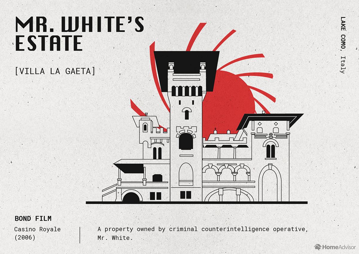 mr. whites estate illustration