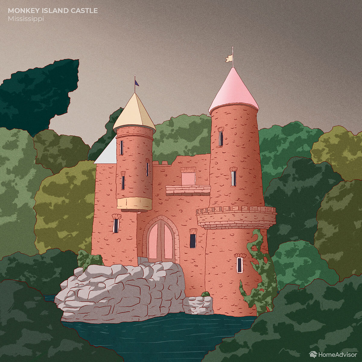 Monkey Island Castle